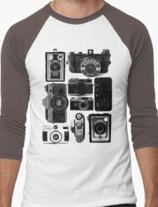 Old Cameras Men's Baseball ¾ T-Shirt