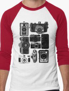 Old Cameras Men's Baseball ¾ T-Shirt