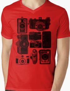 Old Cameras Mens V-Neck T-Shirt