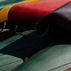 Canoe Hulls 2 by Syd Winer