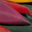 Canoe Hulls 4 by Syd Winer