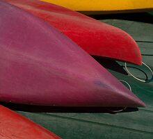 Canoe Hulls 4 by Syd Winer