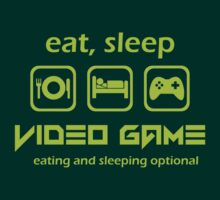 Eat Sleep Video Game by best-designs