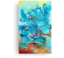 Dreamscape in Blue Canvas Print