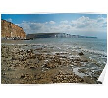 East Sussex Coast Poster