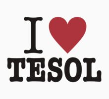 I love TESOL by lldsasec