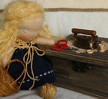 The Knitting Corner by TillyTilda