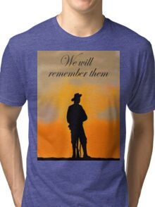 We will remember them Tri-blend T-Shirt