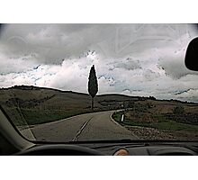 On the road to Florence Photographic Print