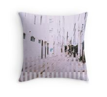 Entramados del espacio III Throw Pillow