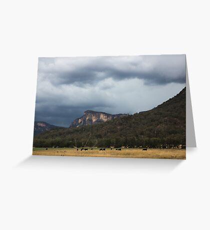 Glen Davis Mountains Greeting Card