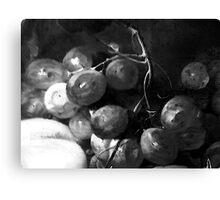 Grape & Peach Canvas Print