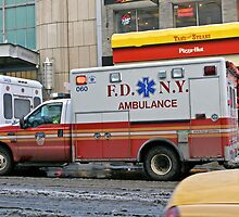 New York Ambulance  by Keith Larby