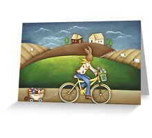 Easter Deliveries Greeting Card