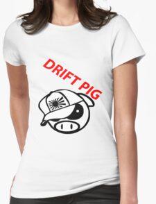 drift pig. JDM style Womens Fitted T-Shirt