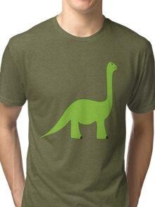 Dinosaur, Sauropod T Shirt Tri-blend T-Shirt