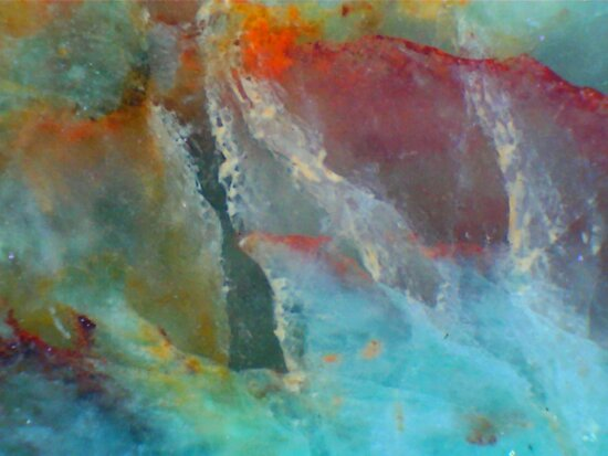 Ghosts (Amazonite) by Stephanie Bateman-Graham