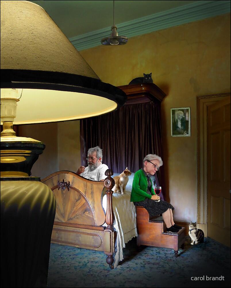 in the boudoir by carol brandt