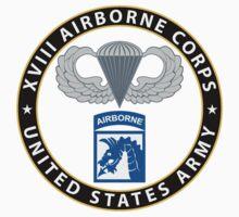 XVIII Airborne Corps Wings Baby Tee