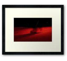 Barcelona - flamenco Framed Print