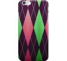 Pink and Green Pattern iPhone Case iPhone Case/Skin