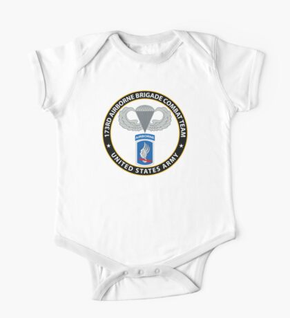 173rd Airborne Wings One Piece - Short Sleeve