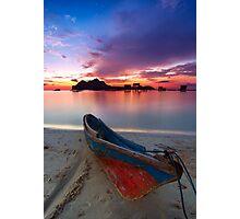 Maiga island Photographic Print
