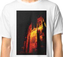 York Minster, Gothic light. Classic T-Shirt