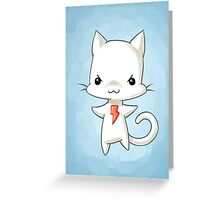 Bolt Greeting Card