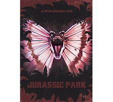Jurassic Park alt Movie Poster Photographic Print