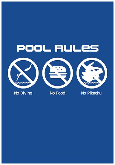 Pool Rules (Print Version) by Rodrigo Marckezini
