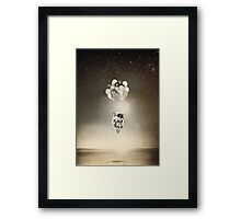The Spaceman Framed Print