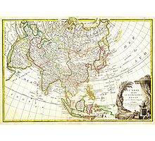 1770 Janvier Map of Asia Geographicus Asia janvier 1770 Photographic Print