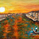 Sunset in Venice by olivia-art