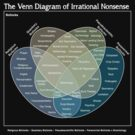 The Venn Diagram of Irrational Nonsense (Dark) by Crispian Jago
