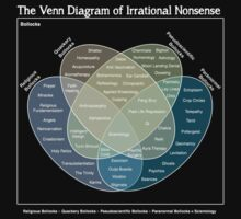 The Venn Diagram of Irrational Nonsense (Dark) by Crispian Jago