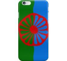 Roma flag iPhone Case/Skin
