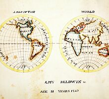 A Map of the World  Amy Baldwin sc by Adam Asar
