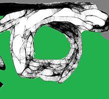 Snake Study II -(070413)- Digital art/mouse drawn/Program: Scribblertoo by paulramnora