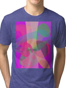 Tree and Fruit Tri-blend T-Shirt