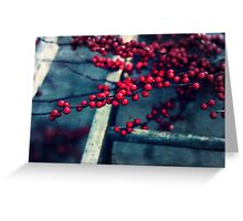 Red Currents Greeting Card