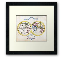 am t 30 cook world Framed Print