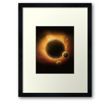 Earth needs Mars Framed Print