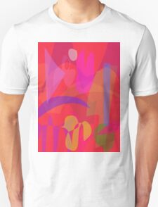 Red Passion in the Garden Unisex T-Shirt