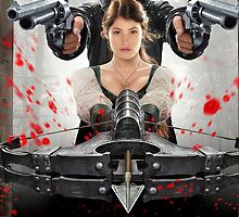 """""""Hansel & Gretel: Witch Hunters"""" - Weapons Drawn by Britnasty"""