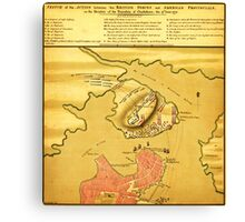 Anniversary of the Battle of Bunker Hill (1776) Canvas Print