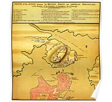 Anniversary of the Battle of Bunker Hill (1776) Poster