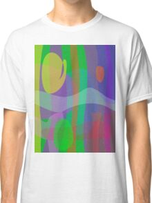 White Wave Classic T-Shirt