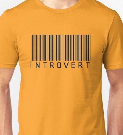 Introvert Barcode Unisex T-Shirt