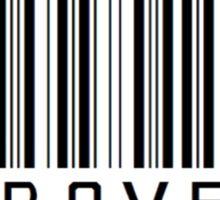 Introvert Barcode Sticker
